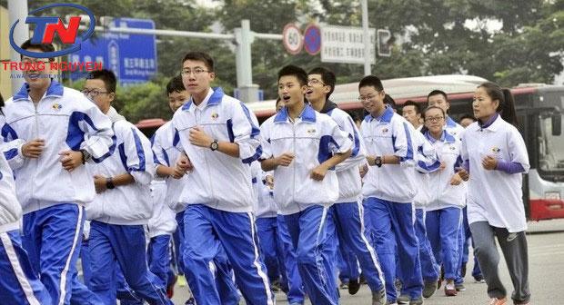 Áo khoác đồng phục học sinh Trung Quốc