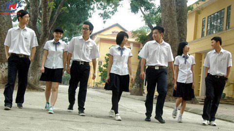 Quần tây đồng phục học sinh