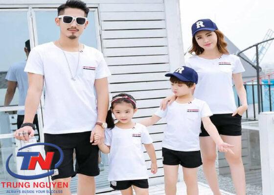Áo gia đình mùa hè trẻ trung