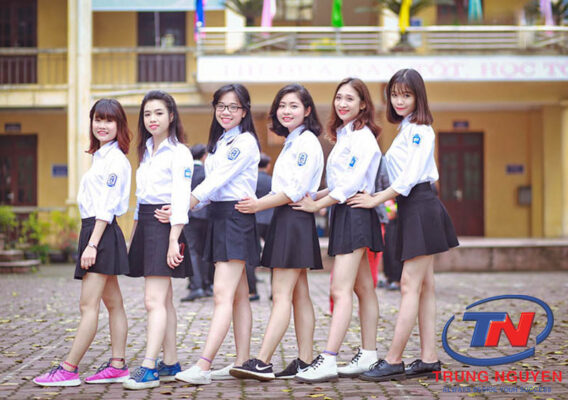 váy học sinh cấp 3
